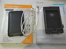 APPLE IPOD TOUCH 2G - 2 CASES (BELKIN & GRIFFIN) , SYNC CABLE & SCREEN PROTECTOR