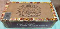 Vintage El Roi Tan & King Edward the Seventh Imperial Mild Tobacco Cigar Boxes