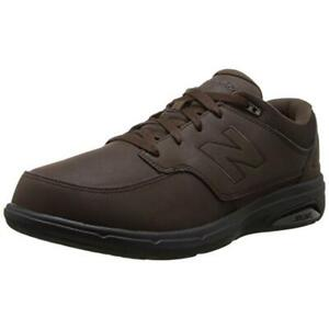 New Balance Mens 813 Leather Fashion Lace-Up Walking Shoes Sneakers BHFO 1753