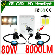 G5 80W 8000lm D2H H7 9006 H9 HIR2 9012 LED HEADLIGHT HEAD LIGHT CAR LED HEADLAMP
