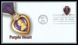 US FDC  # 3784 37c Purple Heart  Fleetwood  2003, 9F773