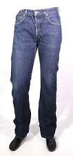 GJ3-138 Levis 758 Herren Jeans W30 L34 blau straight leg loose fit Button Fly