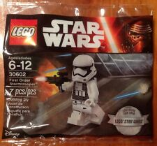 LEGO STAR WARS 30602 FIRST ORDER STORMTROOPER 2016 EXCLUSIVE - NEW & UNOPENED