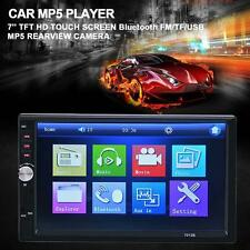 7'' Bluetooth Car Stereo Radio 2DIN FM/MP5/USB/AUX Touch Screen In Dash 7012B TY