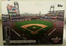 2020 TOPPS OPENING DAY INSERT OPENING DAY CARD OF PHILADELPHIA PHILLES  # OD-9