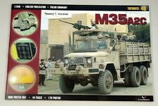 """1/6 Scale 12"""" Diecast  M35 A2 U.S2.5 ton Truck Weapons Carrier With Gun"""