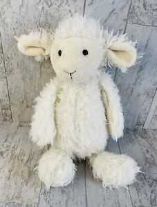 """Jellycat Mumbles Lily Lamb Sheep Plush Stuffed Medium 14"""" Rare"""