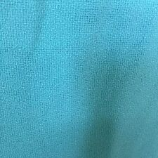 """Fabric Turquoise Polyester Blend 68""""( 1 yd 32 inch) x 60"""" Wide By The Piece"""