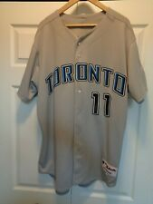 Authentic Majestic Rajai Davis Toronto Blue Jays Jersey - Size 48