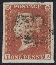 1841 1d Red Pl 154 IA Very Fine Large Margins all round