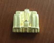 Monopoly Franklin Mint Hotel 24K Gold Plated Replacement Game Piece