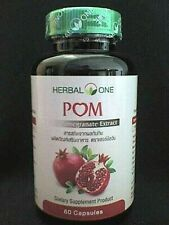 Pomegranate Extract 400 mg (Organic - High) - for Heart / Prostate gland health.
