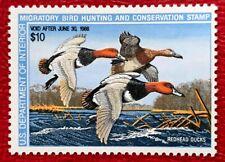 1987 Us Federal Duck Stamps Sc#Rw54 Mnh/Og Cv:$17.5