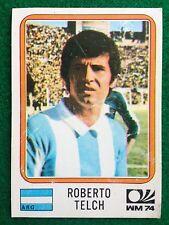 MUNCHEN 74 1974 n 327 ARGENTINA ROBERTO TELCH , Figurina Sticker Panini NEW