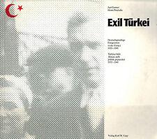 Cremer przytulla, exilio turquía, emigrantes Deutsches Reich 1933/45, dt + turco
