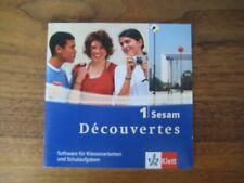 Découvertes 1 Sesam Software für Klassenarbeiten von Klett TOP!