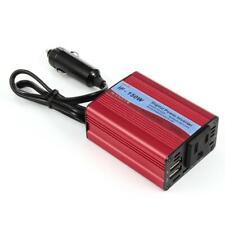 Digital 150W Car Power Inverter DC 12V To AC 220V Adapter With 2 USB Ports JJ