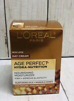L'Oreal Paris Age Perfect Hydra Nutrition Honey Day Skin Cream 1.7 oz.