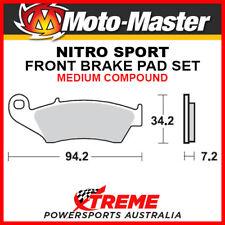 Moto-Master Kawasaki KX500 1994-2004 Nitro Sport Sintered Medium Front Brake Pad
