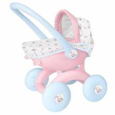 Pink Push Along 4 In 1 Pram First Doll Buggy Cot Seat Toddler Girl Gift Toy