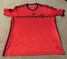 Mens Adidas Seleccion Mexicana Mexico Jersey 2004 - Red, Size 2XL