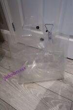 Zara Vinyl Transparent Tote Bag New Handbag Clear Special Edition