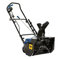Snow Joe SJ622E Electric Single Stage Snow Thrower 18-Inch 15 Amp Motor - Blue