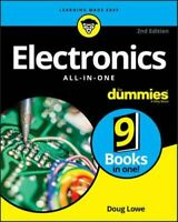NEW Electronics All-in-One For Dummies By Doug Lowe Paperback Free Shipping