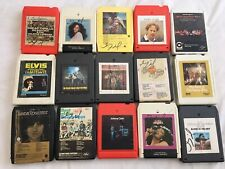 8 TRACK TAPES LOT OF 15 NEIL YOUNG HARVEST, JOHNNY CASH, CHARLIE DANIELS DONNA S