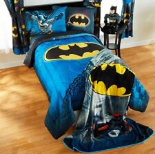5pc Batman Full-Double Comforter+Sheets Set Bed in a Bag Room Bat Signal Bedding