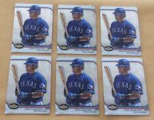 Lot Of 6 2012 Topps Finest Baseball #13 Josh Hamilton Trading Cards