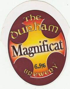 THE DURHAM BREWERY - MAGNIFICAT - LAMINATED PUMP CLIP FRONT