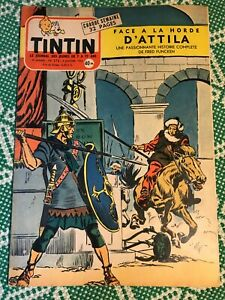 JOURNAL TINTIN 376 France (1956) BD ancienne