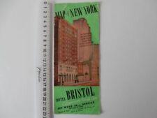 City Map Vintage Original Antique Folding Maps