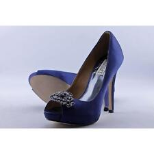 Badgley Mischka Goodie Women US 5.5 Blue HEELS Pre Owned Blemish 2024