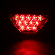 Triangle Flash LED Motorcycle Rear Tail Fog Light ATV Car Brake Warming Lamp
