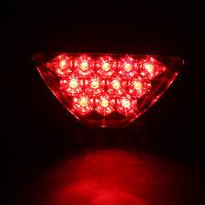 Triangle Flash LED Motorcycle Rear Tail Fog Light ATV Car Brake Warming Lamp
