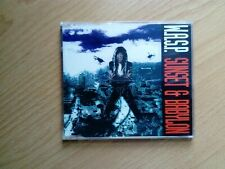 W.A.S.P. Sunset & Babylon Rare 4 Track CD (MIsprinted Sleeve)