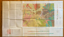 Vintage Map Of The Spokane Quadrangle, Washington, Idaho, Montana 1973