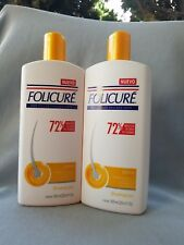 2 FOLICURE Extra SHAMPOO FOR FULLER THICKER HAIR 23.6 fl oz.Reduce Caida 80%