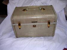 Vintage Train Case Marble Cosmetic Luggage Suitcase Samsonite Shwayder