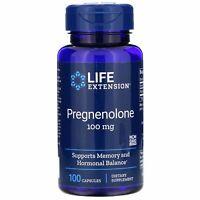 Life Extension: Pregnenolon, 100 mg, 100 Kapseln