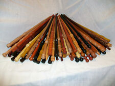 """Wizards Choosing 14"""" - 15"""" Hand Turned Wood Magic Wand Witch Wizard Wicca"""