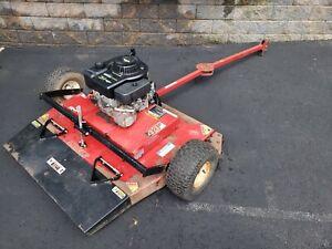 "swisher 44"" trail mower w/ briggs & stratton 10.5HP I/C engine (parts/repair)."
