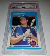 1987 Fleer Update Glossy #U-70 Dave Magadan RC Rookie Card PSA 9 Mint Pop 4