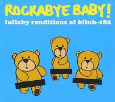 Rockabye baby Blink 182 lullaby CD alternative goth punk rock metal