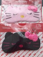 Girl Lady Hello Kitty Cute bow Travel flight rest Sleeping Face Eye Mask Cover