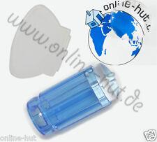 Jelly Stempel mit Schaber Farbe: Blau Transparent, Rückseite offen,Nr. KS-ST-05