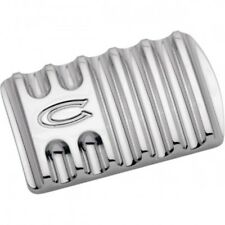 Brake pedal finned chrome - Covingtons C1042-C