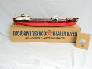 "TEXACO WEN MAC ""NORTH DAKOTA"" TANKER SHIP--WITH BOX--EXCELLENT ORIGINAL--NO RES-"